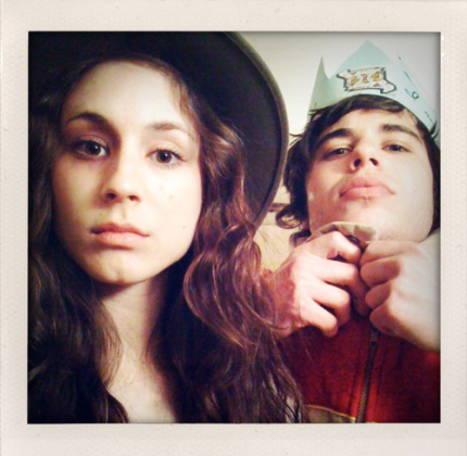 Troian Bellisario And Shane Coffey