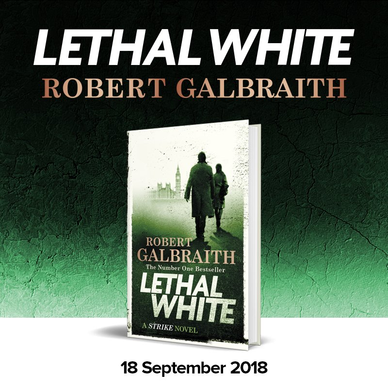 Lethal White A Cormoran Strike Novel Book 4 Kindle edition by Robert Galbraith Download it once and read it on your Kindle device PC phones or tablets Use